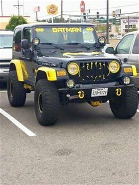 jeep wrangler batman jeeps jeep wranglers and 4x4 on pinterest