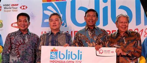 blibli indonesia open  janjikan tontonan  berbeda
