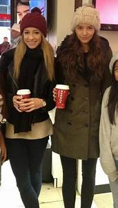 Eleanor Calder and Danielle Peazer hang out in New York ...