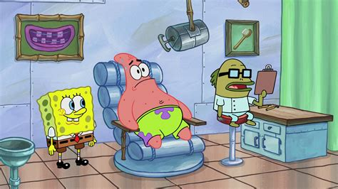 Funny Spongebob Brush Gary Teeth