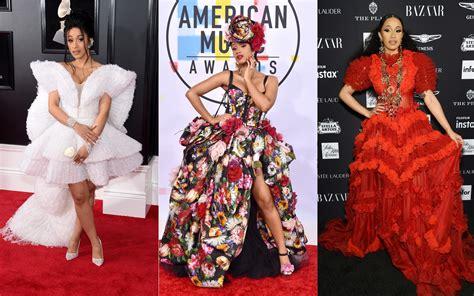 See Cardi B's Best Fashion Outfits: Met Gala, Fashion Week ...