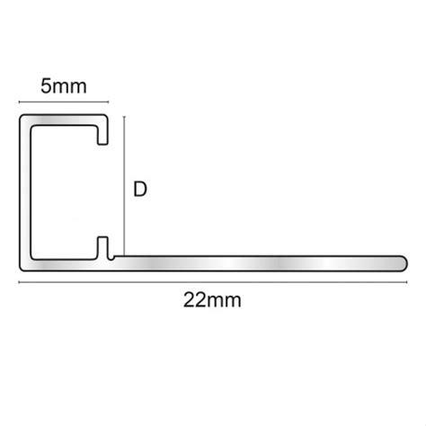 Mozaīkas profils 2,5m/ 8*5/sudrabs spīdīgs TMG080.91 ...