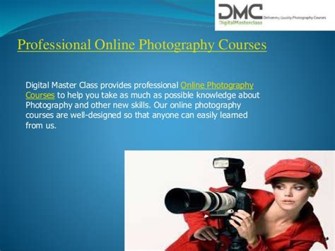 photography courses photography