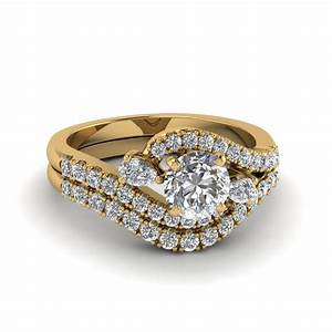 bridal sets buy custom designed wedding ring sets With swirl diamond wedding ring set