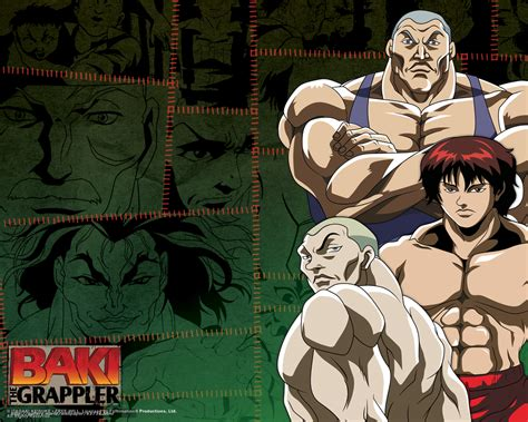 Anime Baki Capitulos Baki The Grappler Temporada 1 Y 2 Mega Identi