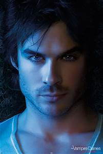 VAMPIRE DIARIES - damon face Poster   Sold at Europosters