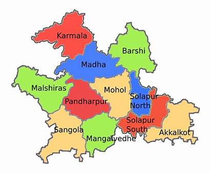 Solapur District Svg Tehsils Wikimedia Commons Pixels