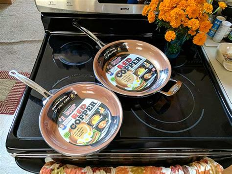 tv red copper cookware review  gadgeteer