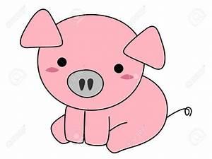 Pink Pigs Cartoon