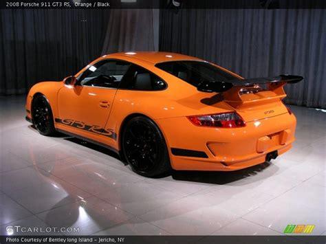 orange porsche 911 gt3 rs 2008 porsche 911 gt3 rs in orange photo no 168750