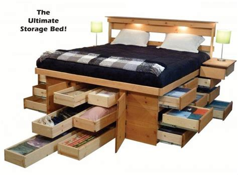 Best 25+ Platform Bed With Drawers Ideas On Pinterest