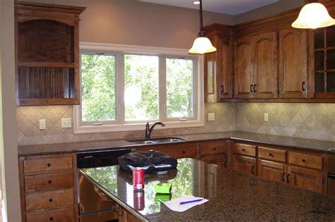 staining kitchen cabinet  refresh  kitchen