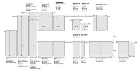 dimension caisson cuisine dimensions elements cuisine ikea table de lit