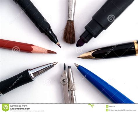 Writing Tools by Writing Tools Royalty Free Stock Image Image 6895936