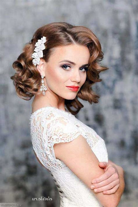 TOP 30 Penteados Para Noivas De Cabelos Curtos: Escolha!