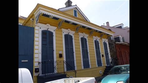 orleans architecture   french quarter youtube