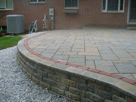 Paver, Stone, And Brick Patios  Maryland. Patio Furniture Iron Black. Painted Concrete Patio Designs. Hampton Bay Outdoor Patio Furniture Replacement Cushions. Pictures Beautiful Patio Furniture
