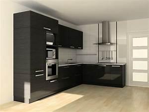 Schwarz Weiße Küche : eine schwarze k che w hlen tipps und 48 interieur ideen ~ Markanthonyermac.com Haus und Dekorationen