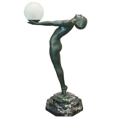 Sculpture Lamp by A Famous Sculpture Lamp Quot Clart 233 Quot By Max Le Verrier At 1stdibs