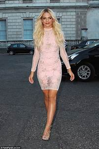 X Factor39s Louisa Johnson Flaunts Her Toned Legs At Simon Cowell39s Summer Party Daily Mail Online