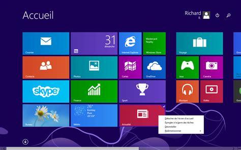 icone raccourci bureau module 2 le système d 39 exploitation windows 8 1 1 9 1