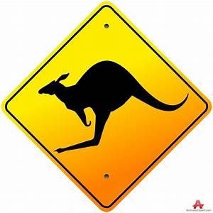 Kangaroo Sign Clipart (4+)