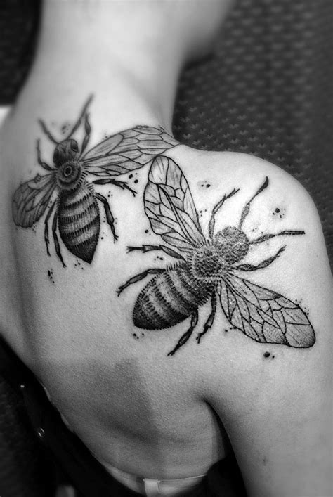 17 Best images about Honey Bee Tattoo on Pinterest | Bee illustration, Honey bees and The project