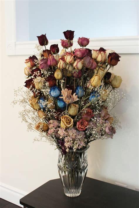 mit trockenblumen dekorieren  alternativen zur