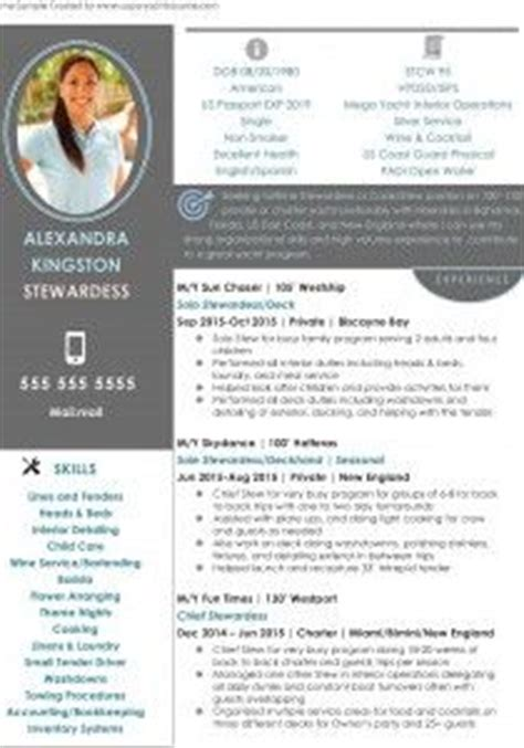 stewardess resume sample  job  interview tips
