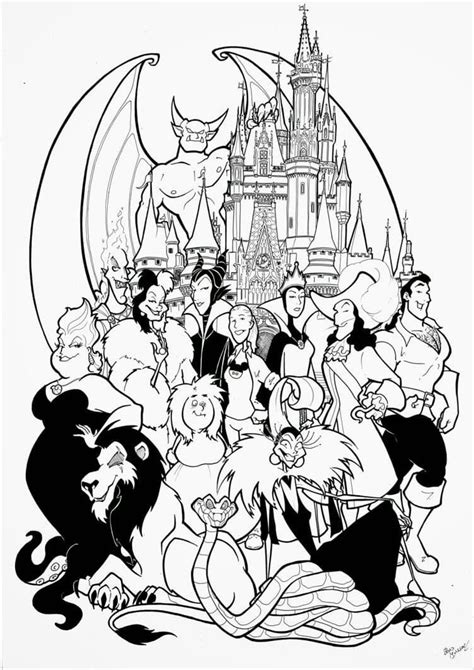 pin  michael rowe   disney coloring pages disney