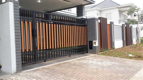 contoh pagar rumah minimalis modern   bengkellas