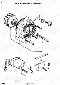 Suzuki Motorcycle 1976 Oem Parts Diagram For Alternator