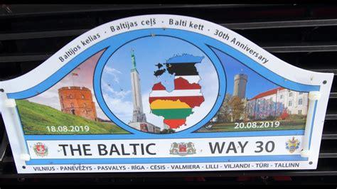 Baltijas Ceļš, Baltijos kelias, Balti kett, 30th ...