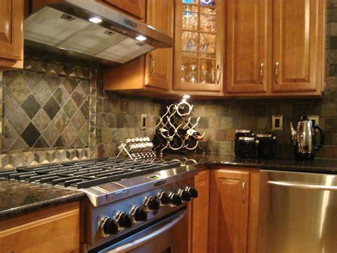 Slate Kitchen Backsplash by Backsplash Slate If I Could Build A Home From Scratch