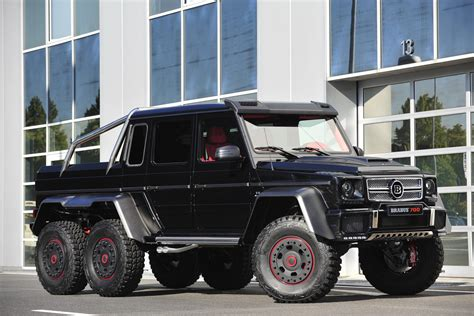Brabus B63s-700 6x6 Monster Truck, Pictures And Details