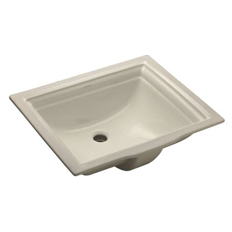 Kohler Memoirs Undermount Sink Biscuit by Kohler Memoirs Vitreous China Undermount Bathroom Sink In