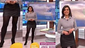 Lucy Verasamy In Leather Mini Skirt Showing Off AMAZING ...