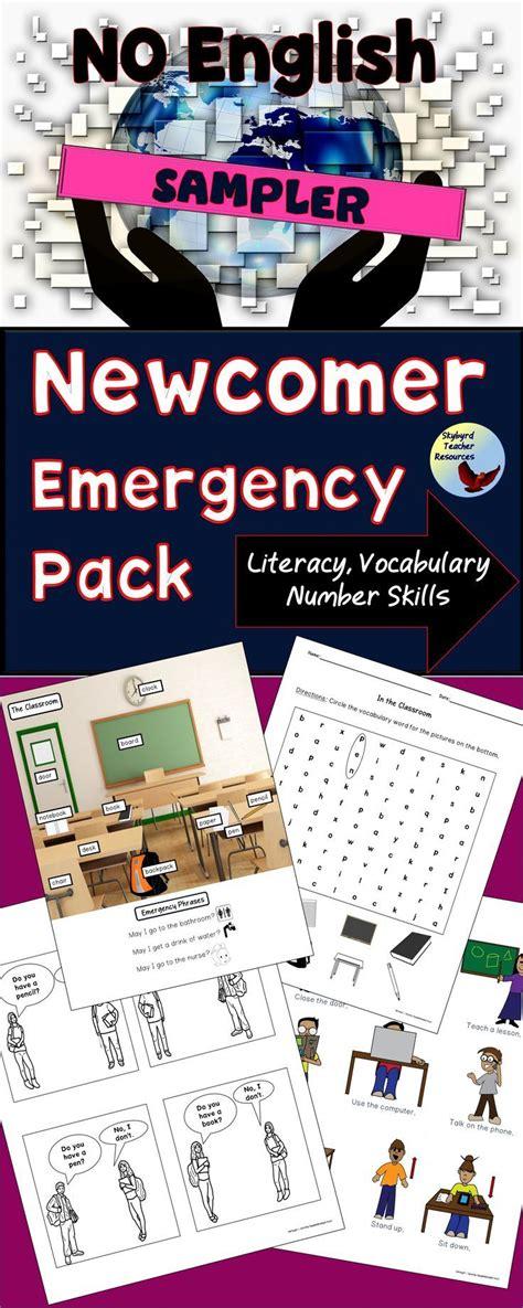 esl newcomer emergency pack sampler great  beginners