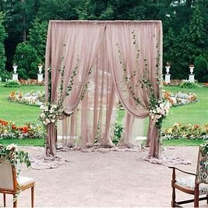 Beautiful 44 unique stunning wedding backdrop ideas for Backdrop decoration for wedding