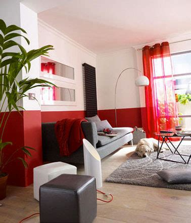 canapé castorama comment apporter de la couleur dans le salon facilement