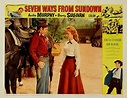 SEVEN WAYS TO SUNDOWN (1960) - Audie Murphy - Barry ...