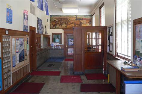 Filehebron, Nebraska Post Office Interiorjpg Wikimedia