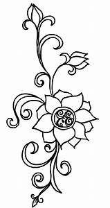 Flower drawing | Henna Designs & Inspiration | Pinterest ...