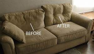 Remodelaholic 28 ways to bring new life to an old sofa for How to put a sofa bed back together
