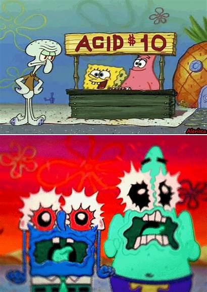 Spongebob Acid Squarepants Meme Random Previous