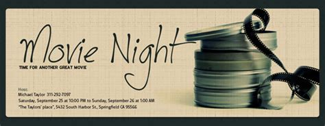 night   invitations