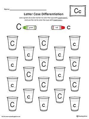 letter c recognition worksheets letter recognition worksheet letter c