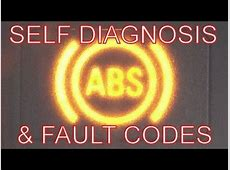 How to Fix the ABS ABS Warning Light on? Self Diagnosis