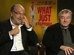 Robert de Niro and writer Art Linson talk about latest ...