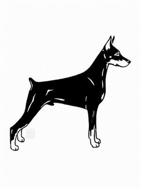 zwergpinscher ausmalbild malvorlage hunde